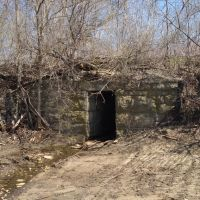Very Old Stone Railroad Culvert, Денвер