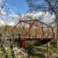 Historic Rosedale Road Through Truss Bridge, Денвер