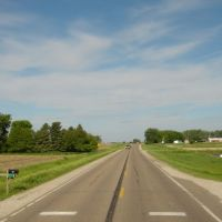 US 18 in Iowa, Калумет