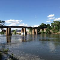 Iowa River Railroad Bridge, Кеокук