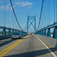 Crossing the Mississippi River from Illinois to Iowa on US 30, Клинтон