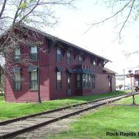 Rock Rapids Depot IA, Лайон