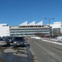 Levitt Center for University Advancement in Winter 2008, Iowa City, IA, Масон-Сити