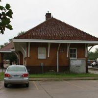 Former Rock Island Railroad Train Station, Iowa City, Iowa, July 2011, Осадж