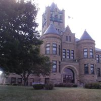 Johnson County Courthouse, Iowa City, Iowa, Осадж
