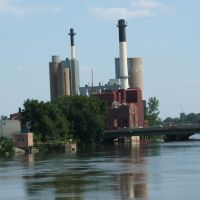 University of Iowa Power Plant, Iowa City, IA 2007, Осадж
