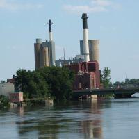 University of Iowa Power Plant, Iowa City, IA 2007, Ред-Оак