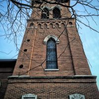 Historic Congregational United Church of Christ Steeple, Ред-Оак