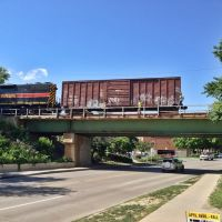 IAIS Gilbert Street Overpass, Ривердал