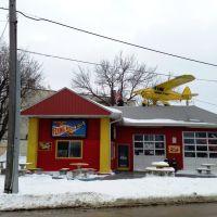 Flying Wienie Hot Dog Restaraunt, Седар-Рапидс