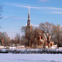 St Wenceslaus Church From Distance, Седар-Рапидс