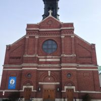 Immaculate Conception Church Front, Седар-Рапидс