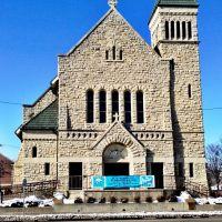 St. Patricks Catholic Church - Cedar Rapids, Iowa, Седар-Рапидс