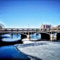 Historic 1st Avenue Bridge - Cedar Rapids, Iowa, Седар-Рапидс