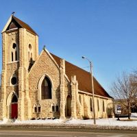 Grace Episcopal Church - Cedar Rapids, Iowa, Седар-Рапидс
