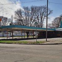 Historic A&W Car Hop - Cedar Rpaids, Iowa, Седар-Рапидс