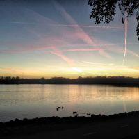 Cedar Lake At Sunset, Седар-Рапидс