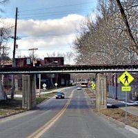 Cedar Rapids & Iowa City Railroad - N. Riverside Drive Overpass, Урбандал