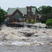 Flood of 2008: Main Street Bridge, Чарльс-Сити