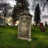 Calvary Cemetary Headstone, Чарльс-Сити
