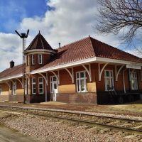 Historic Chicago, Rock Island & Pacific Railroad Passenger Station, Эмметсбург