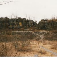Ruffner Quarry in winter, Айрондейл