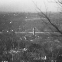 East Lake United Methodist Church viewed from atop Ruffner Mountain. Birmingham, Alabama. 1/1983., Айрондейл