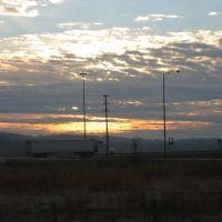 Truck at sunrise, Бриллиант