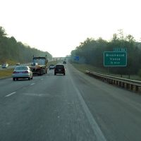 Interstate 20, 69, Exit 86 Brookwood, Vance, Бруквуд