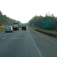 Interstate 20, 69, Exit 86 Brookwood, Vance, Бруквуд