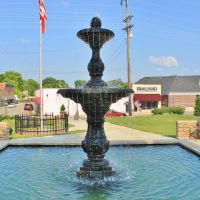 Fountain in Rogersville, Ванк
