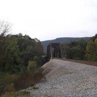 Paint Rock River Railroad Bridge, Вудвилл