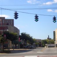 Looking Down Broad Street, Gadsden, Alabama 10-18-2008, Гадсден