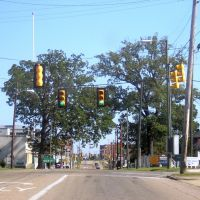 Entering Downtown Gadsden, Alabama 10-18-2008, Гадсден