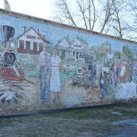 Salem Antiques Mural, Голдвилл