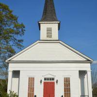 LaFayette Pilot Public Library (historic LaFayette Presbyterian Church), Голдвилл