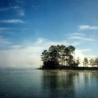 sunrise over Lake Martin, Alabama (1991), Голдвилл
