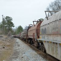 Southbound NS Coil Steel Consist, Гу-Вин