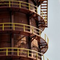 Up and down and round and round: Sloss furnace #2, Карбон Хилл
