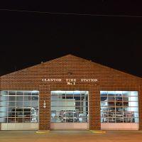 Clanton Fire Station No. 1 (night), Клантон