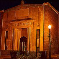 Peoples Southern Bank (night), Клантон
