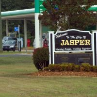 2010, Jasper, AL - Welcome Sign, Кордова
