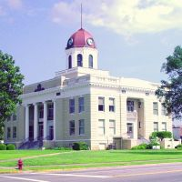 1913 Gadsden County courthouse, Quincy, Florida (8-6-2006), Коттонвуд