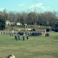 Cadet Corps in formation, Lyman Ward Military Academy. 3/20/1982, Кэмп-Хилл
