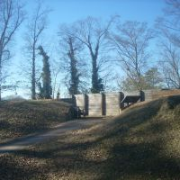 Recreated Fort Tyler in West Point, Georgia., Ланетт