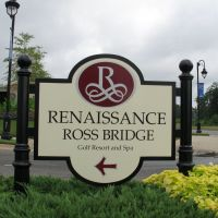 Ross Bridge Entrance Sign, Липскомб