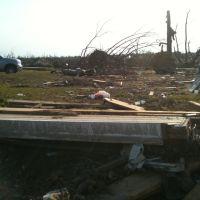 4/27/2011 Tornado Damage 9th, Липскомб