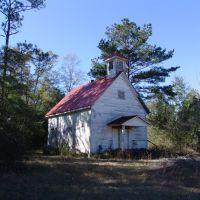 abandoned church, Lakewood Fla (1-2-2012), Локхарт