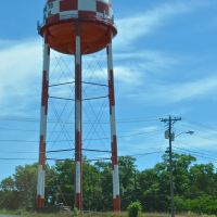 Luverne, AL water tower, Луверн