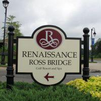 Ross Bridge Entrance Sign, Мидфилд